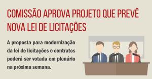 nova lei de licitações PL 559/13